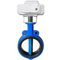 EPDM lined Electric Actuator Butterfly Valve For Drink Water , 2 ~ 120 Size