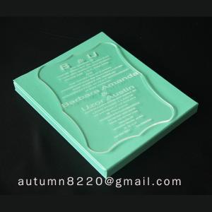 China attractive invitation wholesale
