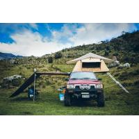 China Outdoor Car Roof Shade Awning , Roof Rack Shade Awnings For 4x4 Vehicles wholesale