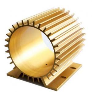 China Oxidation Aluminum Heatsink Extrusion Profiles With CNC Machining wholesale