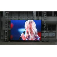 Quality P10 mm SMD 5050 Rental LED Screen , 50Hz 16*16 Led Display Board for sale
