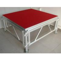 China Red Plywood Movable Stage Platform Simple Stage , Corrosion Resistance wholesale