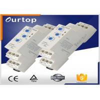 China Red Led Multi Function Time Delay Relay , Din Rail Timer Relay 0.05s~60s Time Range wholesale