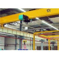 China 10T - 15M Light Duty Single Girder Overhead Cranes With Safety Berakes wholesale