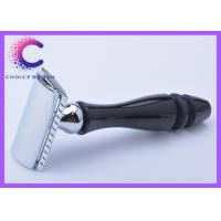 Quality Professional Safety double bladed safety razor with black handle for sale