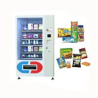 China Consumer Electronic Products Mini Mart Vending Machine With Conveyors White Color wholesale