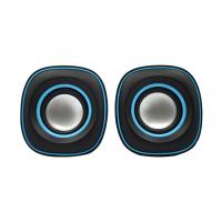 China Portable 2.0 PC Speakers , Digital Computer Speakers Small 65*65*65mm wholesale