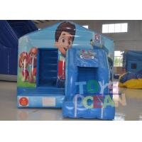 China Commercial Inflatable Bounce House PAW Poppy - Patrol Theme Bouncer Combo wholesale