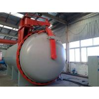 Q345R ASME rubber vulcanization autoclave with Detector of probes and siemens