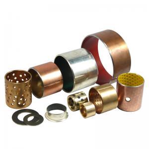 China Maintenance Free Anti Fatigue Slit Oilless Bronze Bushing on sale