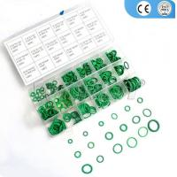 270pcs 18 Sizes Car HNBR O Ring Seals Rubber Air Conditioning O-Ring Seals Assortment Kit Washer Oil Seal Gasket