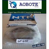 China Deep Groove / NTN Ball Bearings 6209 , ABEC-1 45*85*19MM and Low Vibration wholesale