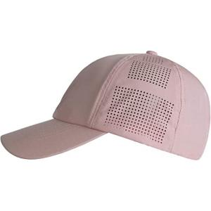 China 100% Polyester Printed Baseball Caps Curve Brim Laser Cut Hole Perforated Sport Hip Hop wholesale