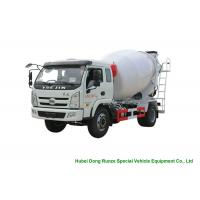 China YUEJIN 5m3 Small Concrete Mixer Truck With Pump , 4x2 Mobile Mixer Truck on sale