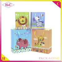 Buy cheap Cartoon animal hand length handle paperboard gift bag from wholesalers