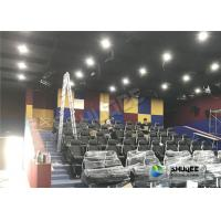 Quality Customized Color 5D Theater System Seats Used For Center Park And Museum for sale