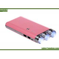 Buy cheap Portable Emergency Mobile Power Bank Charger LED Torch Light 9000mAh from wholesalers