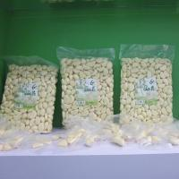 China Fresh Peeled Garlic Plastic Pouches Packaging wholesale