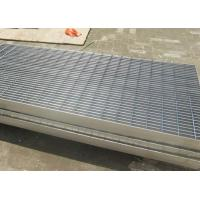 China Walkway Stainless Steel Open Mesh Flooring Twisted Bar Anti Corrosive wholesale