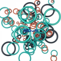 China Red Green Brown NBR FKM Silicone JIS AS568 Rubber O Rings wholesale