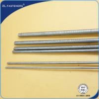 China M6~36 High Tensile Threaded Bar , Stainless Steel Threaded Rod For Auto Engine wholesale