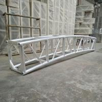 China 350 * 450mm Aluminum Curved Lighting Screw Truss For Outdoor Show wholesale