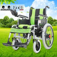 China Big Wheel Manual And Electric Folding Wheelchair With Spray Material For Disabled People wholesale