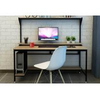 China Fashionable Modern Laptop Desk , Home Combination Simple Computer Table Bookshelf wholesale