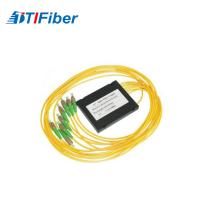 China Customized yellow FTB ABS Fiber splitter ABS box apc fiber optic pigtail wholesale