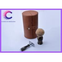 China Shaving Razor Shaving Bowl Badger Shaving Brush Set and Stand wholesale