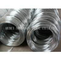 China Q195 0.15mm - 3.8mm Hot Dipped Galvanized Steel wire Zinc Coated For Making Nail wholesale