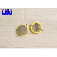 China Original Cr2032 Lithium Battery With Solder , Durable Cr2032 With Connector wholesale