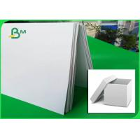 China 800gsm Double Sided White Coated Duplex Board For Carton Box Making wholesale