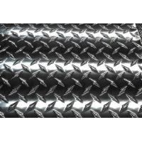 Buy cheap Anti-slipping 6063 Aluminum checker plate and sheet with factory price from wholesalers