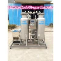 China 99.999% Purity Stainless Steel Onsite Nitrogen Generator For Food Fresh Packing wholesale