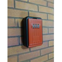 China Four Wheel Combination Outdoor Key Lock Box for Multiple Keys or Cards wholesale