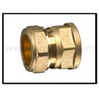 China Brass compression fittings for copper pipes wholesale