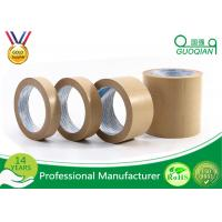 China Drywall Kraft Brown Paper Tape Hot Melt Adhesive For Decorative Materials wholesale
