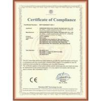 Rajesh King-tech Solutions Co., Limited Certifications