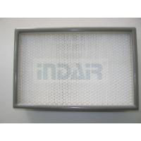 China 0.3 Micron Clean Room HEPA Filters , 24 x 48 HEPA Filter With FM Approval wholesale