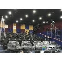 China Customized 5D Movie Theater Simulator With Energy - Efficient Motion Seat wholesale