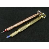 China Upscale Diamond Manual Tattoo Pen With Box Embroidery Eyebrow Microblading Manual Pen wholesale