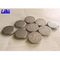 China High Energy Density 3 Volt Lithium Battery , Customized Lithium Coin Cell Battery wholesale