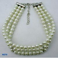 China Women's Custom Fashion Jewelry Beaded Pearl Necklace for Gift wholesale