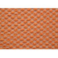 China Nylon Spandex Cotton Stretch Lace Fabric Orange For Curtains SGS CY-LW0667 wholesale