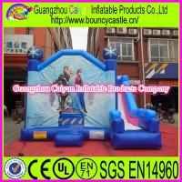 China Castle Type Inflatable Frozen Combo wholesale