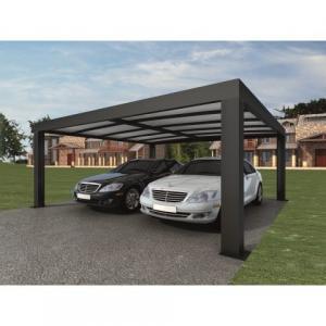 China Intelligent Garage Parking Shed / LED Solar Garage Automatic Carport Garden Door 5.52 x 3.52 x 2.4 m390 kg wholesale