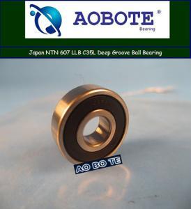 China Deep Groove Japan NTN Ball Bearings 607 LLB C35L , Small Friction wholesale