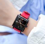 China GUOU Women Genuine Leather Band 3 ATM Waterproof Japanese Quartz Movement Wrist Watch 8096 wholesale