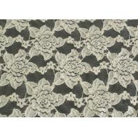 China Custom Nylon Spandex Brushed Lace Fabric Anti Static 125cm Width CY-LQ0038 wholesale
